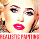 Realistic Painting Effect Photoshop Action