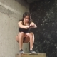 Fit Girl Doing Box Squat Exercise in CrossFit Gym, . - VideoHive Item for Sale