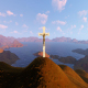 Jesus On The Mountain - VideoHive Item for Sale