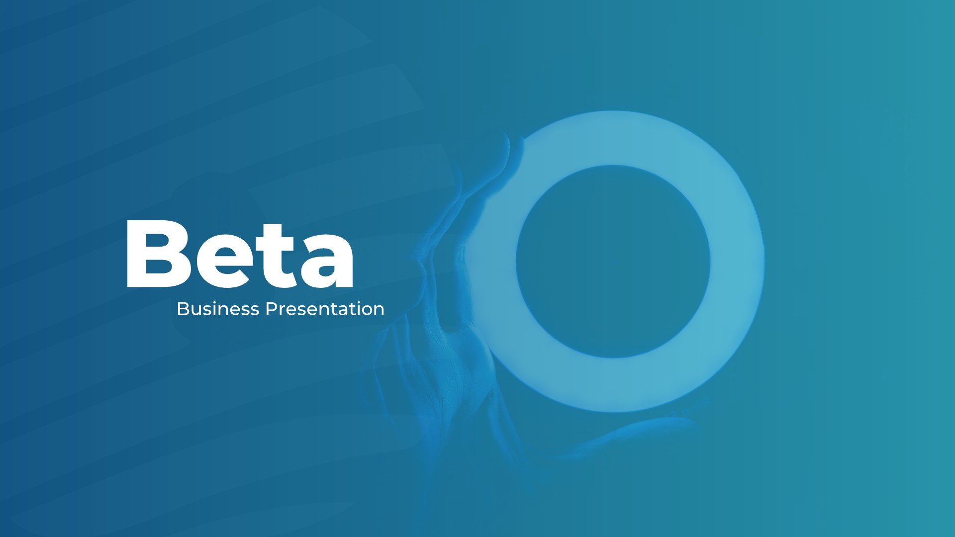 Beta PowerPoint Presentation Template