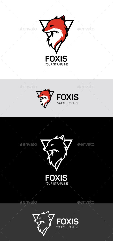 Fox logo - Animals Logo Templates