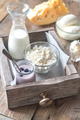 Assortment of dairy products - PhotoDune Item for Sale