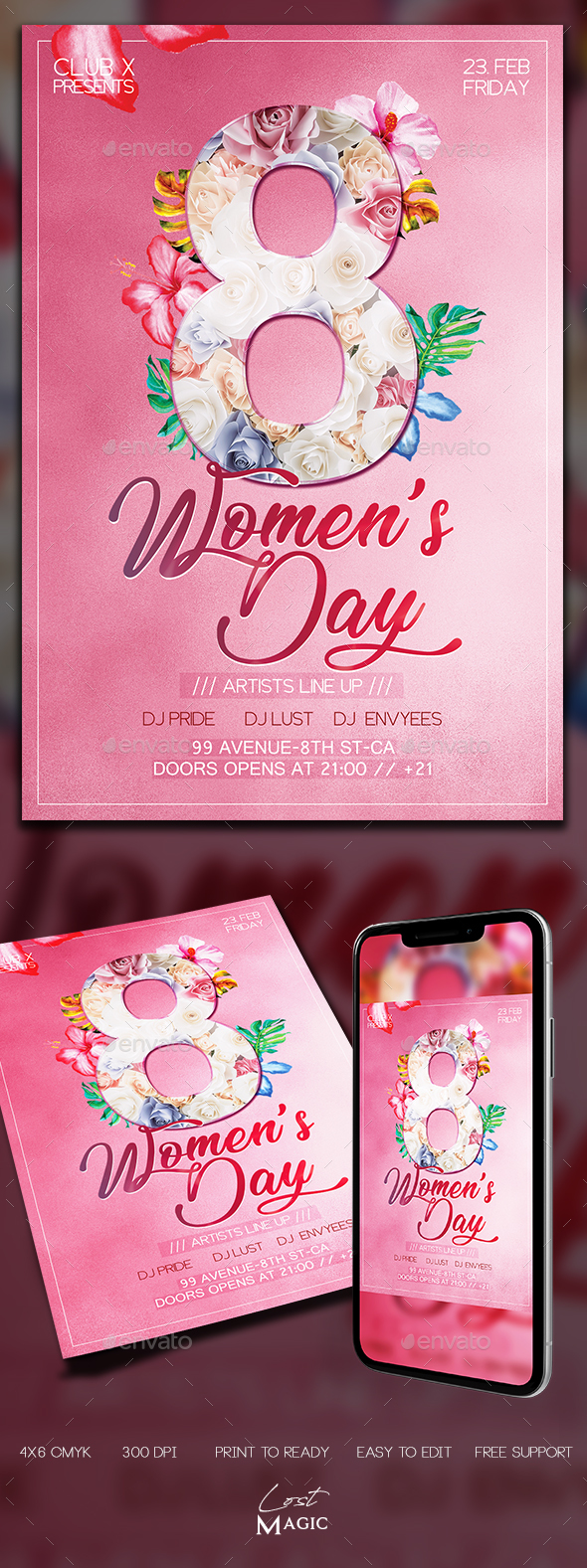 Womens Day - Holidays Events