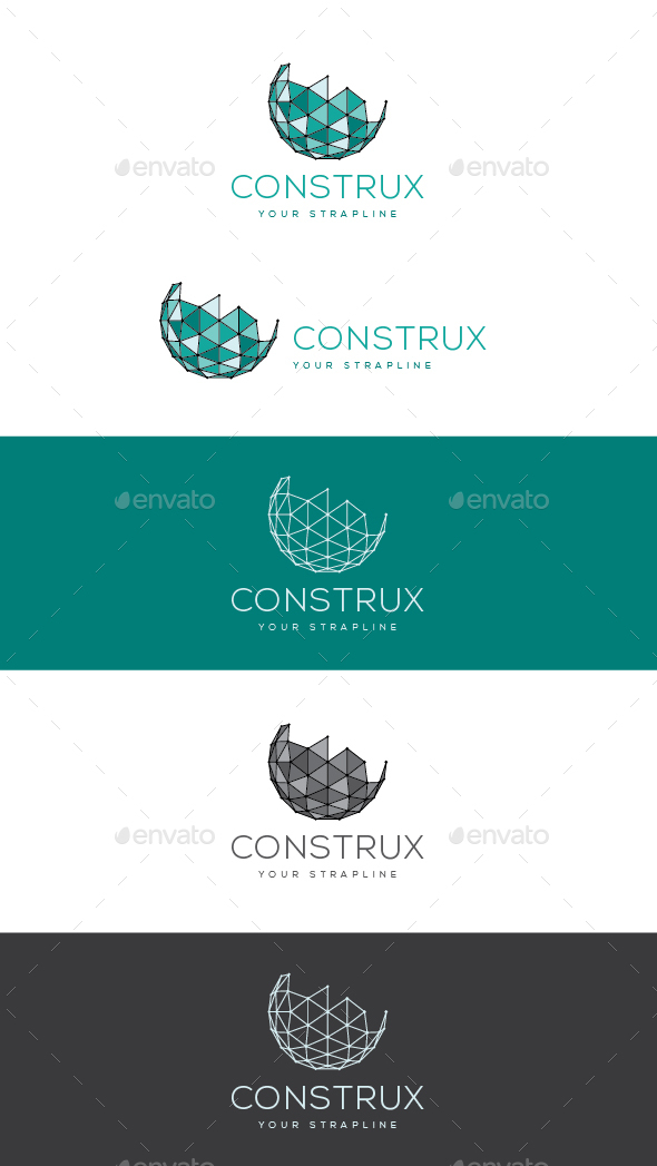 Construx Logo - 3d Abstract