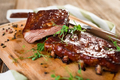 Smoked Barbecue Pork Spare Ribs - PhotoDune Item for Sale
