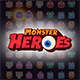 Monters Heroes - Match 3 Unity Project - CodeCanyon Item for Sale