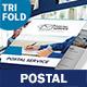 Postal Service Trifold Brochure - GraphicRiver Item for Sale