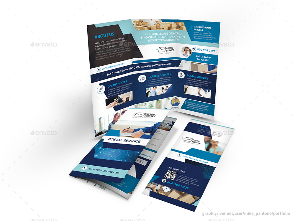 Postal Service Trifold Brochure