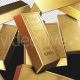 Fine Gold Bars Dropping - VideoHive Item for Sale