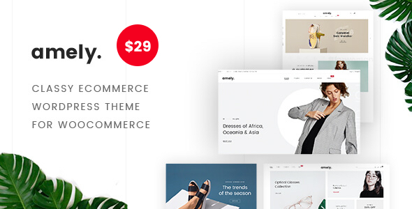 Amely - eCommerce WordPress Theme for WooCommerce Free Download | Nulled