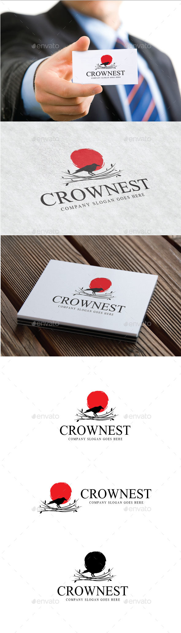 Crownest Logo - Animals Logo Templates