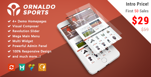 Ornaldo - Sport Responsive WooCommerce WordPress Theme