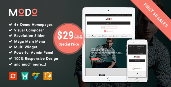 Image of Modo - Fashion Responsive WooCommerce WordPress Theme