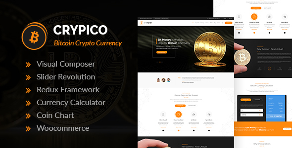 Image of Crypico - Crypto Currency WordPress Theme