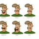 Moustached Man  - GraphicRiver Item for Sale