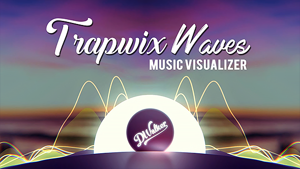 TrapWix Waves Music Visualizer (Miscellaneous) After Effects