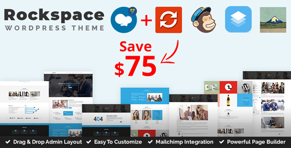 Rockspace - Multipurpose WordPress Theme - Business Corporate