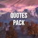 Quotes Pack - VideoHive Item for Sale
