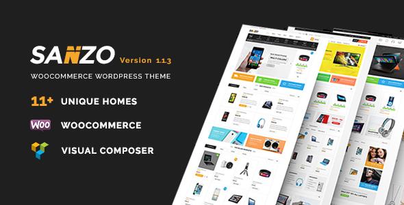 Sanzo   Responsive WooCommerce WordPress Theme