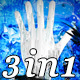 Abstract Hands - VJ Loop Pack (3in1) - VideoHive Item for Sale