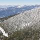 Winter mountain forest snowy landscape. Navacerrada, Spain. Horizontal - PhotoDune Item for Sale