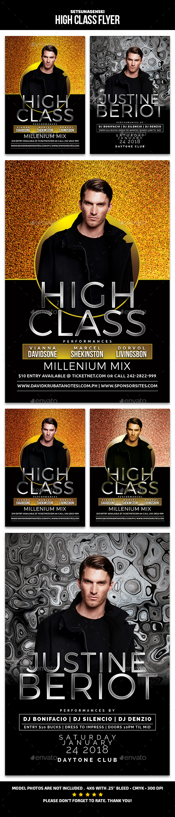High Class Flyer - Events Flyers