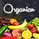 Organian Food, Responsive WordPress Theme