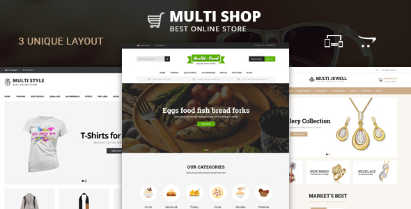 Multi Shop - OpenCart 2 & 3 Responsive Theme