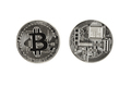 Bitcoin on a white background  - PhotoDune Item for Sale