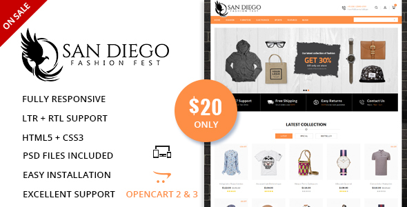 Fashion Fest - OpenCart Responsive Theme