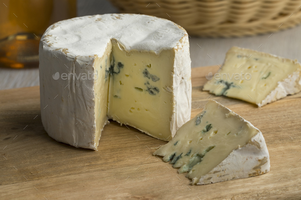 French Blue cheese for dessert - Stock Photo - Images