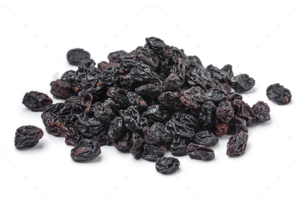 Heap of dried currants - Stock Photo - Images