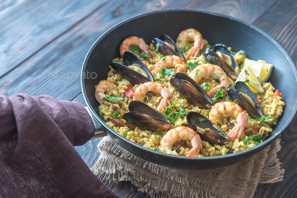 Paella - Stock Photo - Images