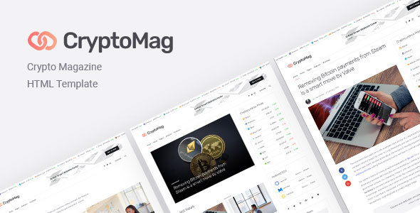 CryptoMag | Cryptocurrency Magazine HTML Template