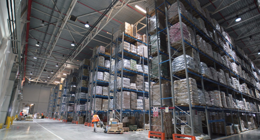 Logistics Business Storage Warehouse