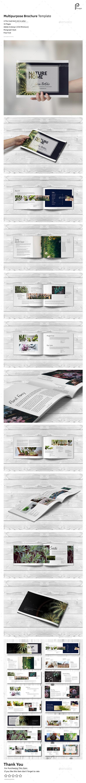 Clean Green Brochure (Landscape) - Portfolio Brochures