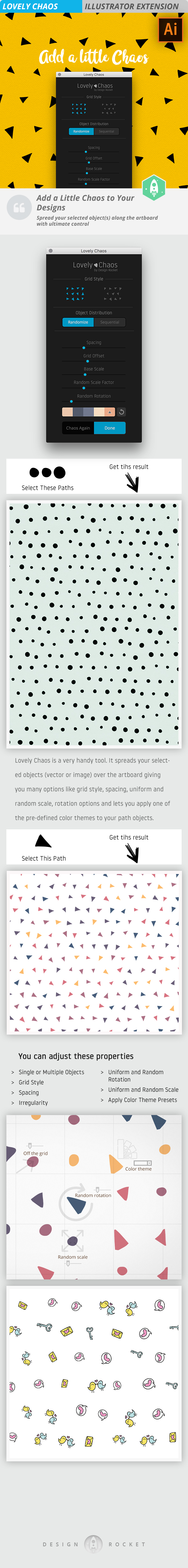 Lovely Chaos - Illustrator Add-ons