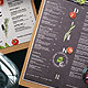 Cafe Menu - GraphicRiver Item for Sale
