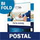 Postal Service Bifold / Halffold Brochure - GraphicRiver Item for Sale