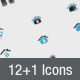 12 Icons Business style + 1 Bonus - GraphicRiver Item for Sale