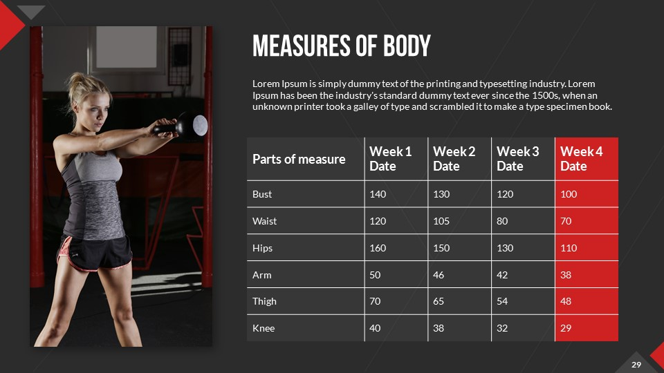 Gym And Fitness Powerpoint Presentation Template By Sananik