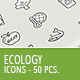 50 Ecology Business Icons
