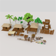 Pitate Village Pack - 3DOcean Item for Sale