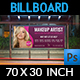 Beauty Center Billboard Template Vol.2 - GraphicRiver Item for Sale