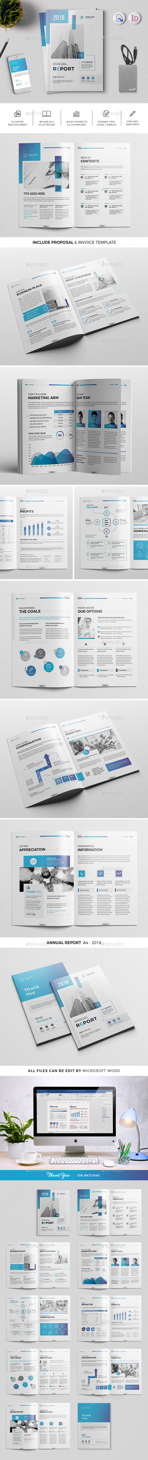 The Annual Report 18 Pages - Corporate Brochures