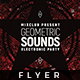 Geometric Sound - Flyer Template - GraphicRiver Item for Sale