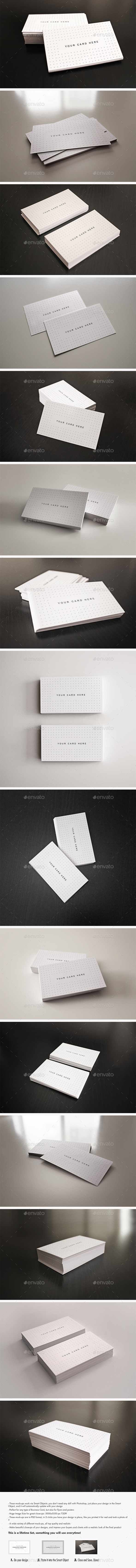 Business card mockups from graphicriver reheart Images
