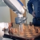 Robot Chessplayer Playing Chess with a Man - VideoHive Item for Sale