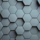 Abstract Hexagons Background Random Motion - VideoHive Item for Sale