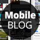Mobile Blog and Articles Set for Apps